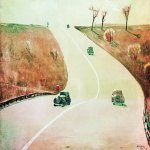 Alexander Alexandrovich Deyneka (1899-1969)  The road to Mount Vernon  Oil on canvas, 1935  60 x 80.2 cm  The State Russian Museum, St. Petersburg, Russia